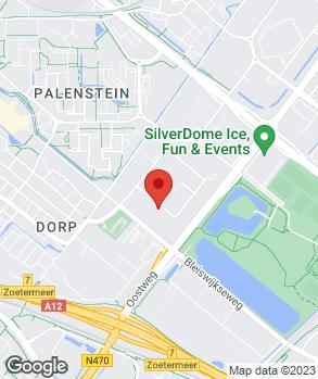 Locatie AV Automotive op kaart