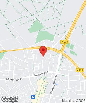 Locatie Autobedrijf J.C. Scheele op kaart