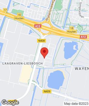 Locatie B.V. Utrechts Auto Bedrijf U.A.B. op kaart