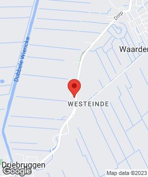 Locatie V.O.F. Autobedrijf Verkaik op kaart