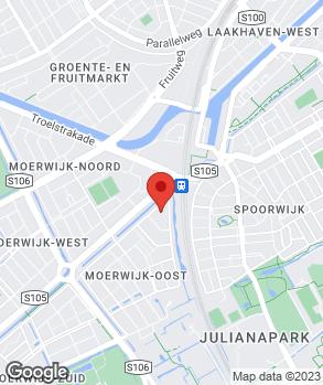 Locatie Garagebedrijf De Haan B.V. op kaart