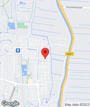 Locatie Thijma B.V. op kaart