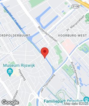 Locatie Garage Nieuw Rijswijk op kaart