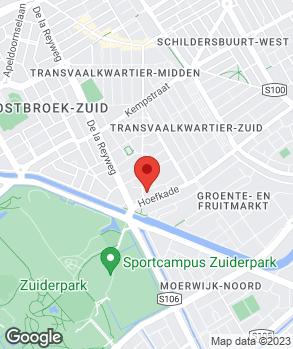 Locatie Autobedrijf Hani op kaart