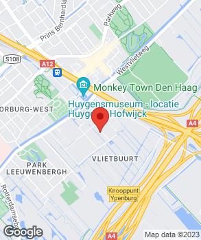 Locatie Gebr. Van der Horst Bedrijfswagens V.O.F. op kaart