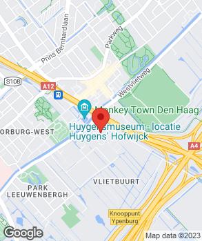 Locatie 4x4 Haaglanden B.V. op kaart