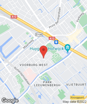 Locatie R. van der Holst op kaart