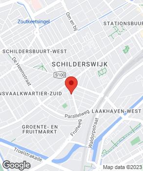 Locatie Euro Garage op kaart