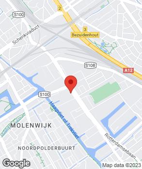 Locatie Motorhuis Den Haag op kaart
