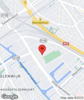 Locatie Auto en Garagebedrijf Th.G. Brouwer op kaart