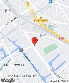 Locatie Auto Haagstad B.V. op kaart