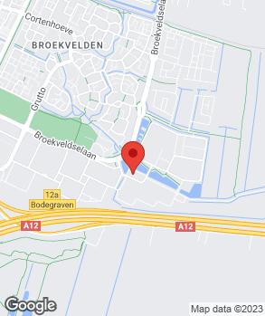 Locatie Autocentr. Bodegraven / Vakgarage Bodegraven op kaart