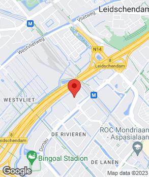 Locatie Lexus Den Haag op kaart