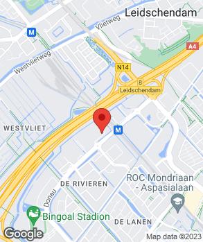 Locatie Jager Auto Blankespoor op kaart