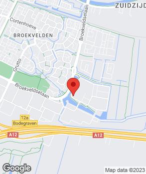Locatie Mobiliteitscentre Bruijnen PCA-dealer op kaart
