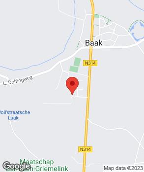 Locatie Garage Niesink B.V. op kaart