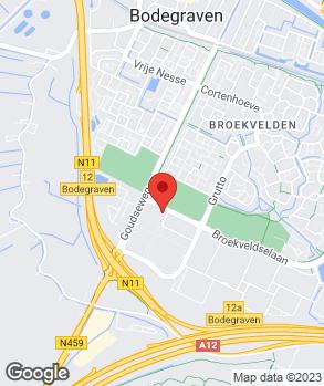 Locatie Kempenaar Bodegraven op kaart