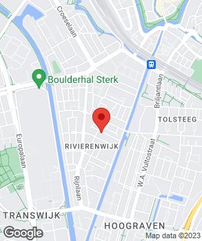 Locatie Oscar van Holland op kaart