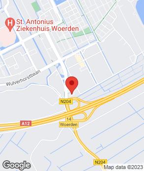 Locatie Van Beynum Woerden B.V. op kaart