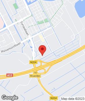 Locatie Van der Woude Autoservice B.V. op kaart