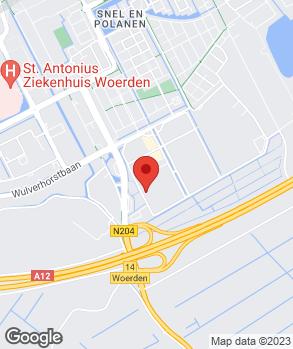 Locatie Van der Woude Auto's B.V. op kaart