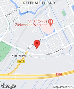 Locatie Euromaster Woerden op kaart
