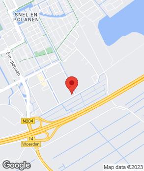 Locatie Automobielbedrijf Hans Severs B.V. op kaart