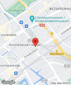 Locatie G.E.K. Auto's op kaart