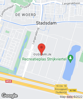 Locatie Autobedrijf W. Budel op kaart