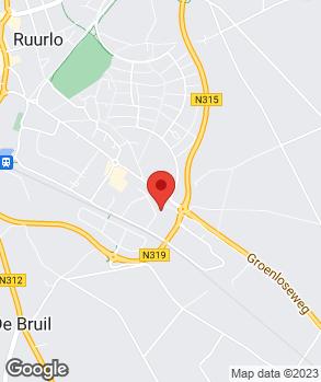Locatie Rouwenhorst Autoschade op kaart