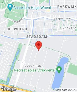 Locatie Autocentrum de Meern op kaart