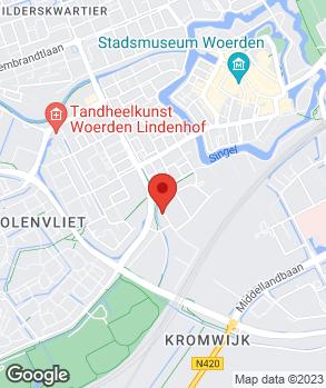 Locatie Autobedrijf Norbert Driessen Woerden B.V. op kaart