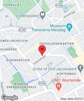 Locatie Automobielbedrijf Ch. van Stokkom op kaart