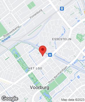 Locatie Autohaag Zeeuw Voorburg op kaart