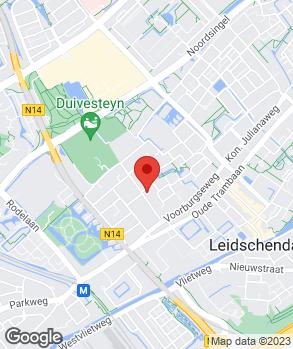 Locatie Autohaag Zeeuw Leidschendam op kaart