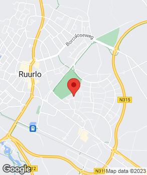 Locatie Deru Auto's B.V. op kaart