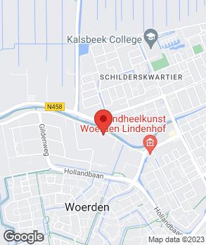 Locatie Autohandel G.P. Cromwijk B.V. op kaart