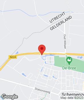 Locatie Auto Service Centrum Scherpenzeel B.V. op kaart