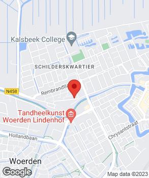 Locatie Auto Rijnstad B.V. op kaart