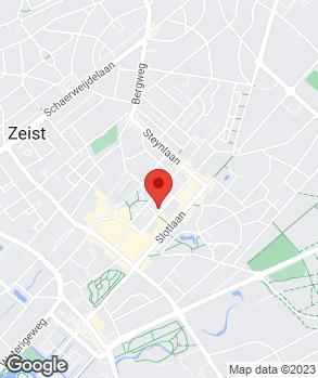 Locatie Auto Tewes Zeist op kaart