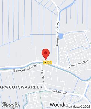 Locatie Reparatiebedrijf Vroege op kaart