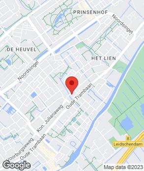 Locatie Van Vliet Autobedrijven op kaart