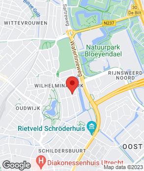 Locatie A.C. de Jong Automobielbedrijf op kaart