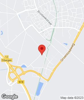 Locatie Berentsen Auto's V.O.F. op kaart