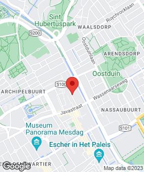 Locatie V.O.F. Autobedrijf Wieringa op kaart