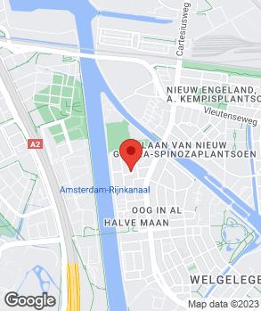 Locatie Autobedrijf Oog in Al op kaart