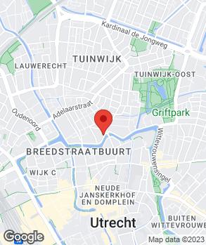 Locatie Autoweerd - Vakgarage Utrecht op kaart