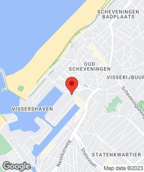 Locatie Autoservice Scheveningen op kaart