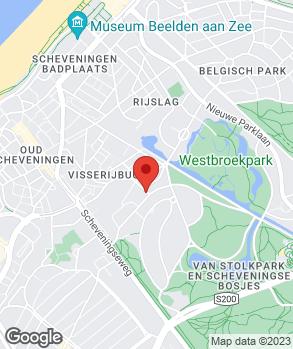 Locatie V.O.F. Autobedrijf Van Diemen op kaart