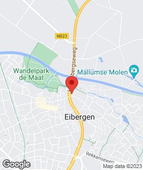 Locatie Grooters Eibergen B.V. op kaart
